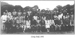 Graig Staff Photo 1991