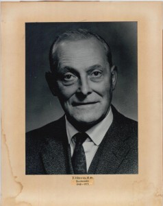 J V Harries 1968-1972